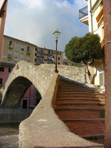 Il ponte medioevale di Bogliasco