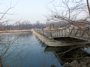 Ponte di barche a Bereguardo