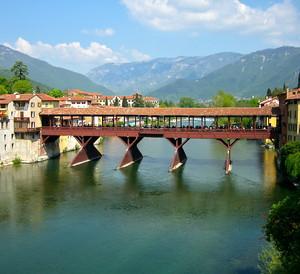 Sul ponte di Bassano