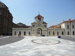 La piazza della Reggia