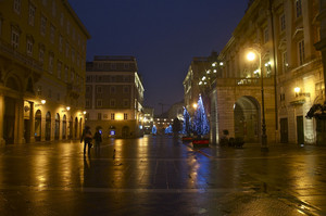 Piazza Verdi a Natale