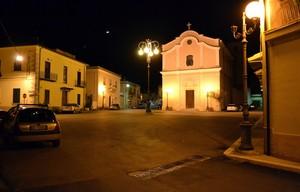 Piazza G.Pepe nella notte – Pozzilli