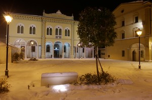 Piazza Matteotti Innevata