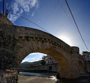 La fiumara e il Ponte Vecchio