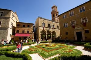 Piazza Pio II° – Pienza -