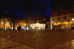 La piazza della giostrina