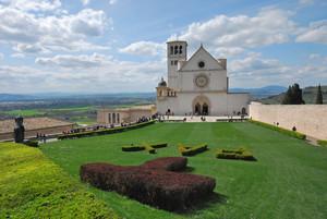 Piazza Superiore ad Assisi