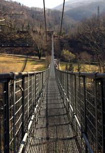 ponte sospeso a Mammiano Basso