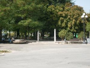 Piazzale della villa Comunale.