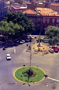 Piazza Costituzione a Cagliari