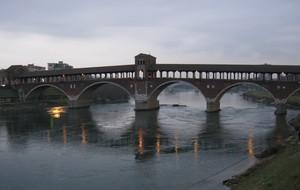 Cielo coperto sul Ponte Coperto
