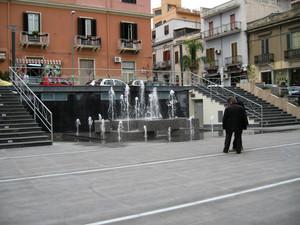 Piazza orange