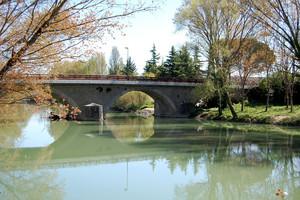 Ponte sul Tevere a Torgiano