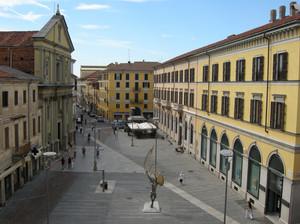 Piazza Gramsci o del Rosario – veduta