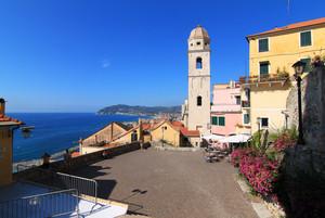 Piazza San Giovanni Battista: terrazza con vista mare