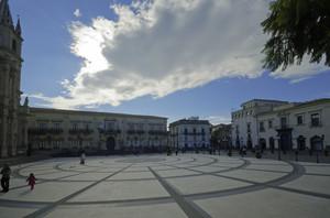 geometrie in piazza Duomo