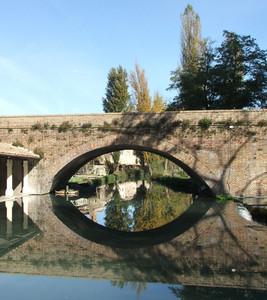 Ponte sul fiume Timia