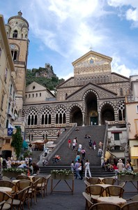 Amalfi: piazza Duomo