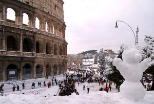 Roma come non s'era mai vista