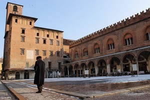 P.za delle Erbe-Mantova