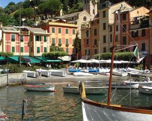 I found my love in Portofino…