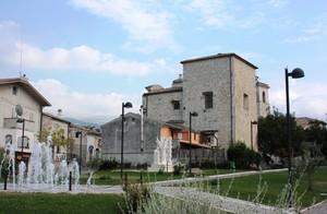 piazza belvedere di Roccamorice