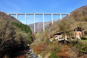 il ponte della val di Mosso