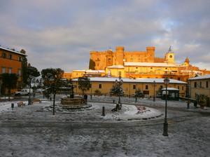 Dopo la nevicata….esce il sole ed è uno spettacolo!