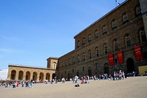 ''La calura in Piazza Pitti'' - Firenze