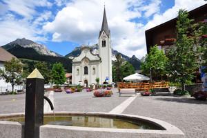 San Vigilio di Marebbe – Piazza della Chiesa