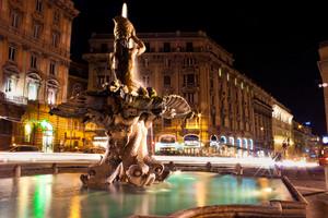 Piazza Barberini, Roma
