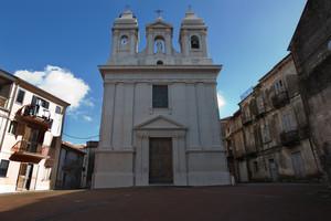 La piazzetta del santuario De SS Rosario