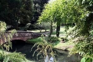Ponte del Giardino Inglese del Parco della reggia
