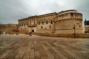 Piazza Castello Corigliano d'Otranto(LE)