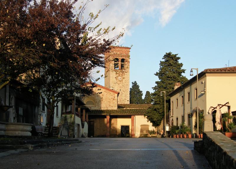''Tramonto alla Rocca'' - Montemurlo