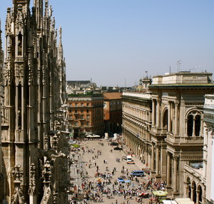 Scorcio su Piazza Duomo