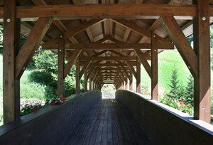 Sul ponte.