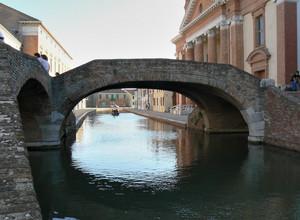 Un ponte di Comacchio