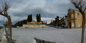 Una piazza di Agrigento
