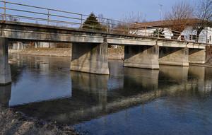ponte sul corno, Rive D'Arcano