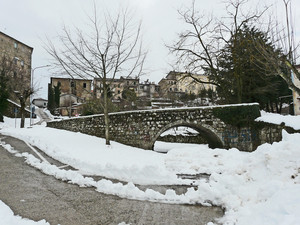 Il vecchio ponte- sotto il Ponte del Viadotto-
