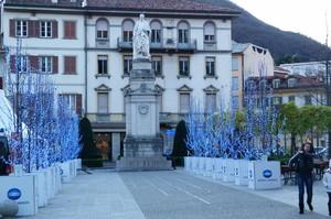 piazza Dante in dicembre