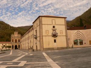 piazza del santuario