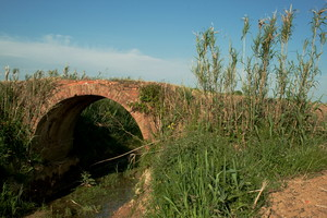 Il ponte di Miliano sul torrente Orcina