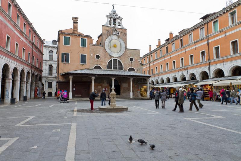 ''CAMPO SAN GIACOMO DI RIALTO'' - Venezia