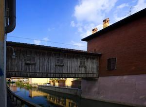 Alla scoperta della Martesana, il ponte coperto di Gorgonzola