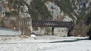 Scluse, l'ex ponte ferroviario