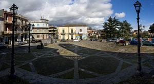 Vista di Piazza Roma dalla Chiesa