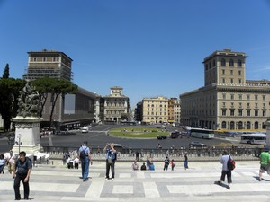 Piazza Venezia in Roma