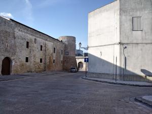 Piazza San Carlo Il Castello Acquarica del Capo(LE)